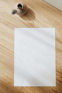 vetvrij papier horeca